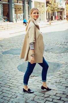 { perfect fall } cute jacket layering