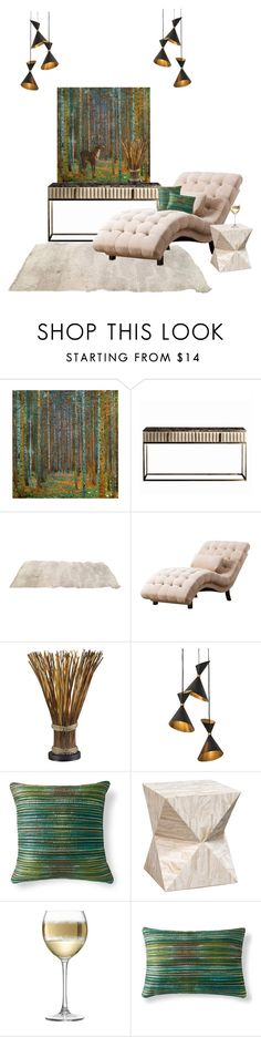 """""""Untitled #5693"""" by lovetodrinktea ❤ liked on Polyvore featuring interior, interiors, interior design, home, home decor, interior decorating, Abbyson Living, Global Views, Grandin Road and Palecek"""