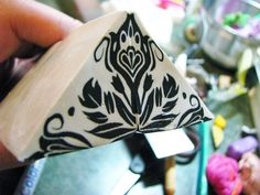 first cut and stack....double up... by Wanda's Designs, via Flickr