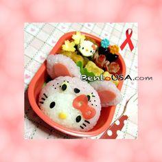 Bento - OMG...love Hello Kitty, so cute!