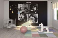 Beatles wallpaper for rooms