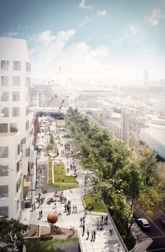Idea for a New York Highline style walkway/cycleway area using an abandoned goodsline in the heart of the Sydney CBD. If done it would link the Broadway Link Cycleway to Darling Drive to get to King St Cycleway, CBD or Hay St to get to Chinatown. Pedestrian wise will link Railway Sq to Darling Harbour in a more picturesque way.