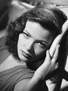 Gene Tierney, natural beauty.