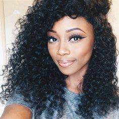 Klemmer Lover® Grade 6A Mongolian Kinky Curly Hair Extensions Afro Kinky Curly Virgin Human Hair Weave Natural Black Hair Products 100% Natural Black Hair Extensions 8-30inch One Piece 50g/pc (10) -- Check out this great product.