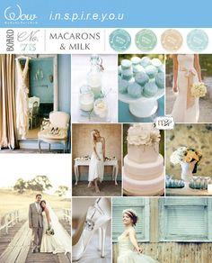Aqua blue wedding