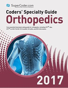 24 best icd 10 images on pinterest icd 10 coding and cpt codes coders specialty guide 2017 orthopedics volume i fandeluxe Gallery