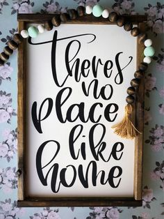 Excited to share the latest addition to my etsy shop: Wood signs // theres no place like home // farmhouse signs // rustic decor // home decor // signs // wood wall art // signs with quotes // Diy Home Decor Rustic, Farmhouse Wall Decor, Farmhouse Signs, Handmade Home Decor, Vintage Home Decor, Vintage Farmhouse, Farmhouse Frames, Urban Farmhouse, Farmhouse Office