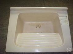 Tanque de fibra para lavar roupas