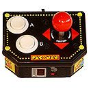 Multi-Game Arcade Joystick makes playing classic arcade games easy, but lacks the arcade experience Arcade Joystick, Retro Arcade, Pac Man, Arcade Games, Walls, Box, Easy, Snare Drum, Wands