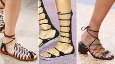 The Top 9 Shoe Trends of Spring 2016 - Gladiators  - from InStyle.com