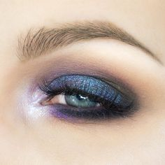 Indigo dreams with the Daydreaming Pigment Makeup Look — rebeccakshores.com