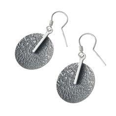 #silver #earrings kolczyki ze srebra oksydowanego www.velucci.eu