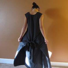 Vestido Flutter Asiática Con Dos Bolsillos dos Maneras Desgaste Lista la Orden de Encargo