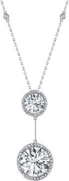 Neil Lane Diamond and Platinum Pendant Necklace