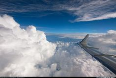 View from a Learjet