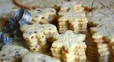 Jane's Sweets & Baking Journal: Cinnamon Cranberry Shortbread . . . Simplify the Christmas Cookie Marathon!