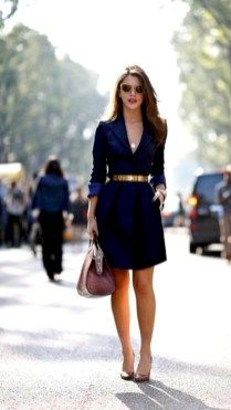 Trendy business casual work outfit for women (44)
