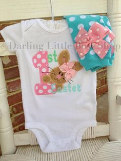 Hey, I found this really awesome Etsy listing at https://www.etsy.com/listing/217212527/baby-girl-easter-outfit-my-1st-easter