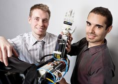 Michal Prywata and Thaigo Caires are behind Bionik Labs, a medical engineering research and development corporation with a focus on prosthetics and rehabilitation devices. Medical Engineering, Research And Development, Labs, Labradors, Labrador, Lab