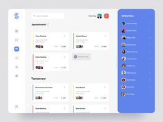 SaaS Dashboard App Starter Kit III designed by Anton Tkachev for Connect with them on Dribbble; the global community for designers and creative professionals. Design Ui Ux, Application Ui Design, Dashboard Design, Data Science, Healthcare Website, To Do App, Dashboard App, Amazing Websites, Ui Web