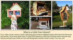 Should cities be allowed to ban Little Free Libraries? : TreeHugger