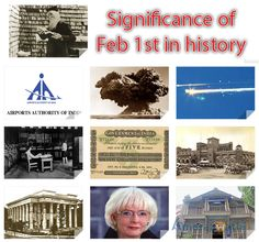 Significance of Feb 1st in history