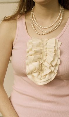 LOFT Inspired Ruffle Tank - Disney at Ruffles and Stuff  ....another fun sewing project to try!