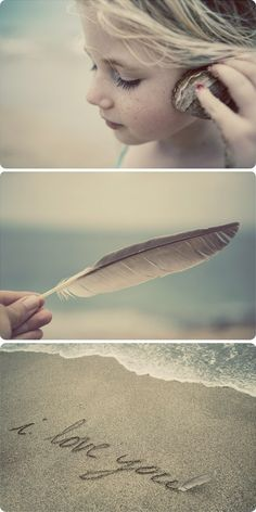 Soft muted colors...