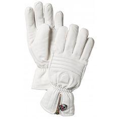 Hestra Leather Swisswool Classic Ski Gloves in Ivory | http://www.white-stone.co.uk/womens-c273/ski-c277/ski-gloves-c207/hestra-ski-gloves-hestra-leather-swisswool-classic-ski-gloves-in-ivory-p4007