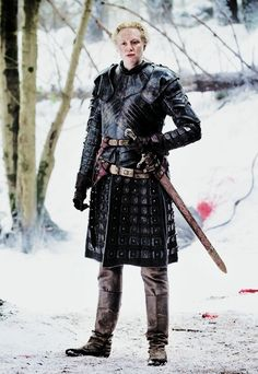 Brienne of Tarth http://www.gameofthronesdaily.com/archive