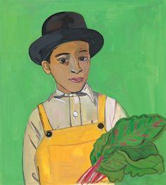 maira kalman: boy with chard, 2011