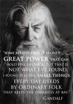 Gandalf: Great Power goes to those who put skin in the game