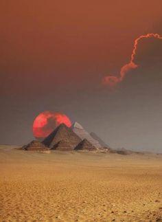 Piramidy, Egipt