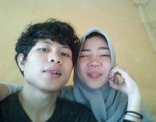 With :)