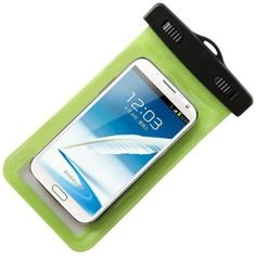 Indo Dealz Waterproof Pouch untuk Handphone MP3 Digital Camera - Hijau
