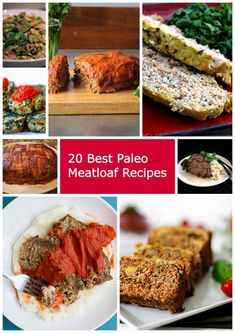 The Best Paleo Meatloaf recipes. Paleo diet recipes, lifestyle and Paleo weight loss tips. Best Paleo Recipes from the Web - Paleo Zone Recipes. Zone Recipes, Best Paleo Recipes, Primal Recipes, Whole Food Recipes, Diet Recipes, Favorite Recipes, Easy Recipes, Paleo Meatloaf, Meatloaf Recipes