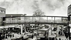 Footbridge over Marlowes Great Places, Places Ive Been, Hemel Hempstead, St Albans, Back In Time, Rare Photos, Paths, Street View, Watford