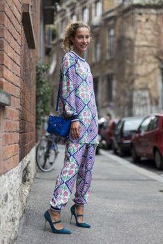 Street style from Milan fashion week autumn/winter '15/'16  gallery