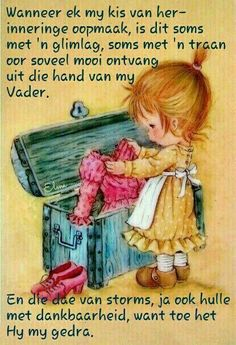 Goeie More, Afrikaans Quotes, Faith Hope Love, Positive Quotes, Baseball Cards, Blessings, Garden, Inspiration, Biblical Inspiration