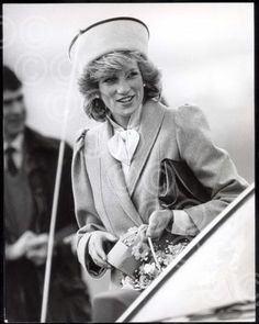 On 25 March 1985 as she was returning to London from a three day holiday in Scotland with her family, Princess Diana made an appearance at the hospice then located in Milltimber.