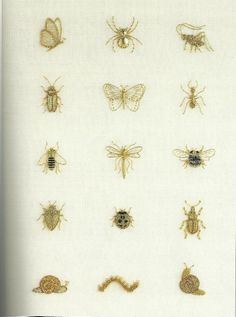 The Stumpwork, Goldwork and Surface Embroidery Beetle Collection - Google Search