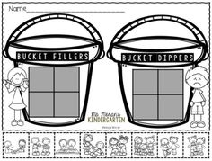 How Full Is Your Bucket Free Sort. A great way beginning of the year sort to bring about discussion on how we can be a good friend.