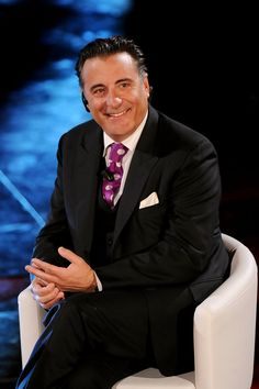 Andy Garcia - Sanremo 2011 - The 61st Italian Song Festival: February 16, 2011