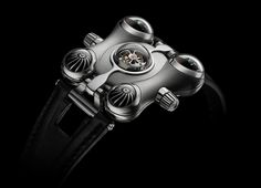 MB&F HM6 Space Pirate Watch 5 • TheCoolist - The Modern Design Lifestyle Magazine