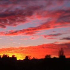 #limoges ce soir #coucherdesoleil #ciel