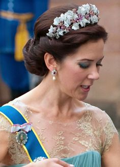 H.R.H. Crown Princess Mary of Denmark.