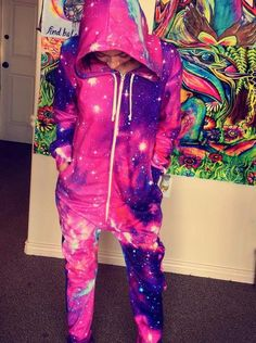 Galaxy 2.0 Adult Onesie