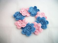 Great embellishments for cards, scrapbooking or clothing!
