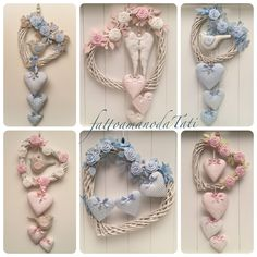 1 million+ Stunning Free Images to Use Anywhere Felt Wreath, Wreath Crafts, Diy Arts And Crafts, Crafts To Sell, Valentine Crafts, Valentines, Heart Crafts, Hanging Hearts, Heart Decorations