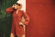 Tanja Trutschnig, Blogger Bazaar, #bloggerbazaaribiza, Style, Summer, Asos, Tulpenärmel, Perfect Summer Dress, Trend, Rostrot, Rustred, Blogger, Germany, Oldtown, Ibiza, Skagen, Watch